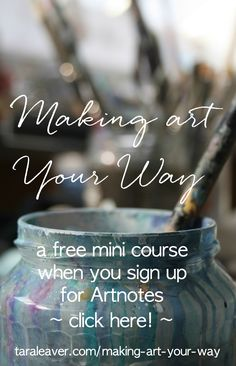 24 ways to let go of painting habits that prevent you from painting freely and release you to really loosen up your art.