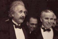 Einstein with Charlie Chaplin