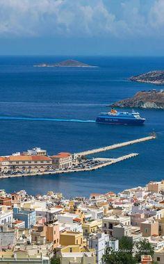 Syros Greece, Greece Islands, 10 Picture, Acropolis, Fantasy Landscape, Ancient Greece, Crete, Beautiful Pictures, Europe