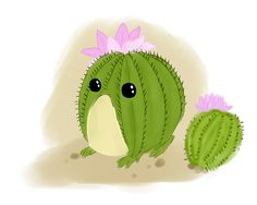 Cactus microhylidae by SilverLoon.deviantart.com on @DeviantArt