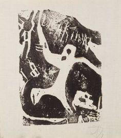 Hans Richter: Revolution (Arbeiter) (Revolution [Workers]), 1917. Linocut on paper. 8 1/4 x 5 1/2 in. (21 x 14 cm. Private collection. © 2013 Hans Richter Estate. Photo © 2013 Museum Associates/LACMA.