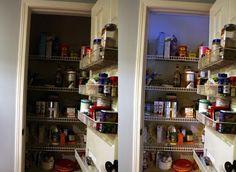 How to Light a Small Closet or Pantry using a Motion Sensor