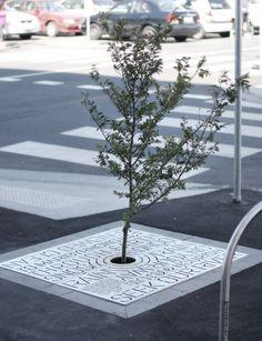 Tree Grates Signage | Designer: Heine Jones