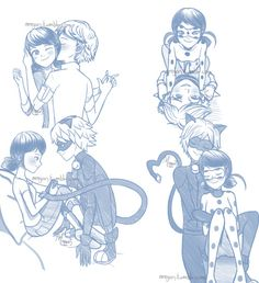 For Miraculous March Day which was yesterday. I haven't worked on more, but SHIP SQUARE DAY! Apparently, Ladrien is way more sin, while. Miraculous Ladybug Kiss, Miraculous Ladybug Fanfiction, Meraculous Ladybug, Ladybug Comics, Lady Bug, Marichat Comic, Marinette Et Adrien, Bugaboo, Arte Disney