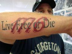 1776 tattoo - Google Search