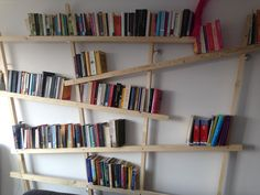 Homemade boekenkast #diy