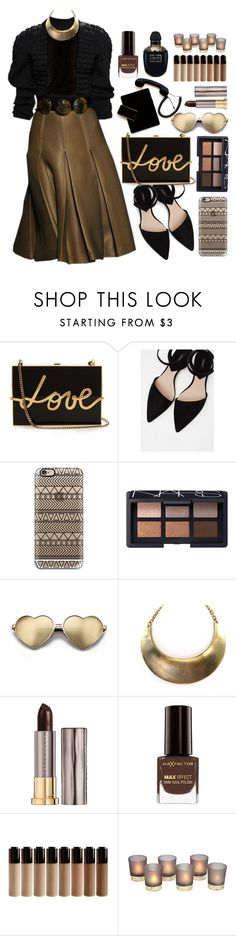 """13.01.17"" by malenafashion27 ❤ liked on Polyvore featuring Galliano, Lanvin, MANGO, Casetify, NARS Cosmetics, Wildfox, Urban Decay, Max Factor and Alexander McQueen"