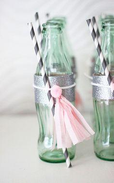 DIY fancy pretty coke bottles
