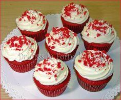 Red Velvet Cupcakes, Mini Cupcakes, Cupcake Cakes, Velvet Cake, American Cupcakes, Cap Cake, American Food, Finger Foods, Cheesecake
