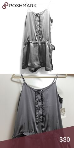 New Low Price  Silky Grey Romper •NWT• Super cute Silky Sound & Matter Gray Romper from PacSun. •New With Tags•.        Same/Next Day Shipping PacSun Pants Jumpsuits & Rompers