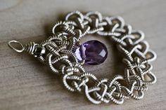 Jewelry Pattern JiaSha Earrings Celtic Wired