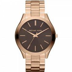 Michael Kors MK3181 Ladies Rose Gold Watch Michael Kors. Save 3 Off!. $175.00. Rose Gold-tone Stainless Steel Bracelet. Brown Dial
