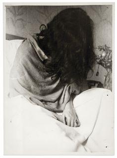 "elisebrown: "" Frida in the New York hospital, by Nickolas Muray, 1946 Frida Kahlo, Her Photos (Artsy) """