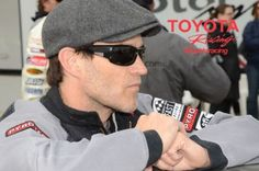 Stephen Moyer training for the Toyota Pro/Celeb Race.