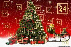 Adventskalender,entdecke,spielerisch,unternehmen,Hauptgewinn,Adventszeit,Geschenke,Überraschung
