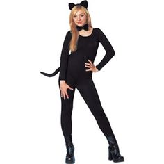 Halloween Cat Ears Tail and Bowtie Wholesale Halloween Costumes, Hot Halloween Costumes, Women Halloween, Cat Ears And Tail, Disney Sweaters, T Shirts For Women, Cats, Stuff To Buy, Discount Travel
