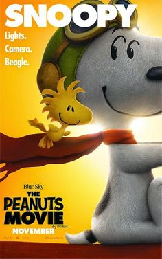 sandwichjohnfilms: THE PEANUTS MOVIE Character Posters