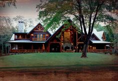Iron Horse Ranch Photo Gallery, Sandpoint, Idaho  http://bitterroottimberframes.com