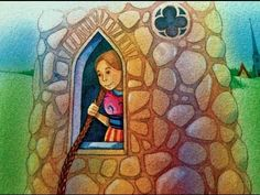 Rapunzel Fairy Tale Bedtime Story video on You Tube