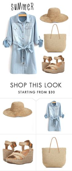 """Needle in a Haystack"" by camiseta ❤ liked on Polyvore featuring Nordstrom, Blowfish and summerhat"