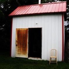 Île d'Orléans  Québec  / la cabane du boucanier photo IVPC