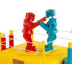 Amazon.com: Rock 'em Sock 'em Robots Game: Toys & Games