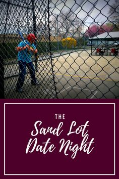 Sandlot is one of my family's favorite movies of all time. We love going to baseball games in the summer but I wanted to make that classic date night even more special. I created a date night around Sandlot, one of the best baseball movies in the world. I made our destination a complete surprise, something that always makes my husband smile.