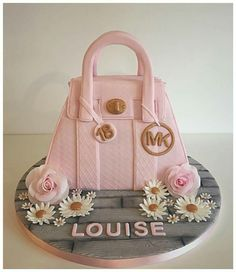 Birthday Cakes For Women Girly Bag Cake Decorating Ladies