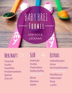 Babybrei selbst machen - so geht's. Auf unserem Blog findet ihr den Beitrag mit wichtigen Infos unter: http://dreieckchen.de/babybrei-selber-machen  baby, food, babybrei, brei