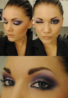 purple pink makeup - Linda Hallberg - March 09 2019 at Pink Makeup, Beauty Makeup, Eye Makeup, Hair Makeup, Hair Beauty, Linda Hallberg, Creative Makeup Looks, Magical Makeup, Makeup Brush Set