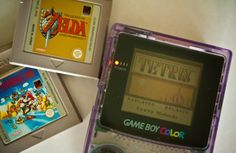 My Game Boy Color color, and I am playing Link's Awakening. Crazy random happenstance. :)