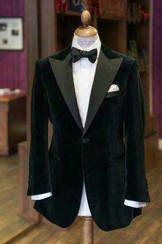 Dinner Jacket Black Velvet