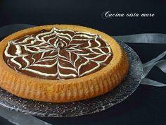 Crostata+morbida+con+crema+al+caffè