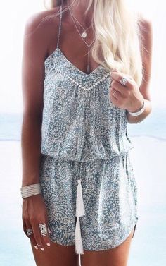 Indian ocean playsuit