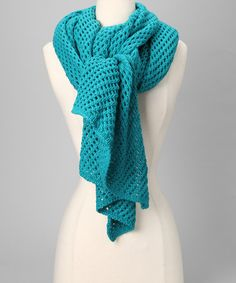 Take a look at this Lake Letitia Scarf by Shiraleah on #zulily today!