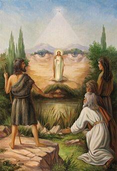 Явление Мессии. Оптические иллюзии в картинах украинского художника, Олег Шупляк.