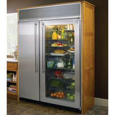 When we live an hour from the nearest grocery store, we need a big fridge so we can stock up! I love this 39 cubit   foot capacity one from Northland.