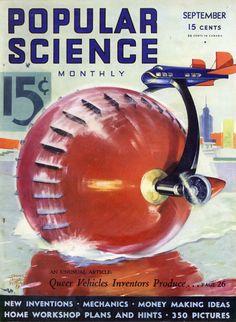Vintage Popular Science Magazine Aug 1933