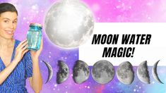 MAKE MOON WATER! Moon Water is incredibly easy to make and it can energize your home and lifestyle in so many ways! Feng Shui Guide, Feng Shui Crystals, Finding Yourself, Make It Yourself, Crystal Magic, Dream Life, Have Fun, Moon, Water