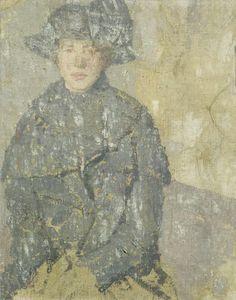 by Gwen John, (British 1876-1939)