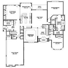 6 bedroom single family house plans | Print this floor plan Print ...
