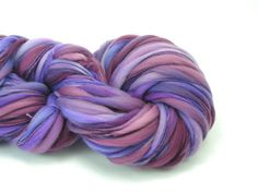 Handspun Thick and Thin Rambouillet 202 yards by TheSavvyStitch