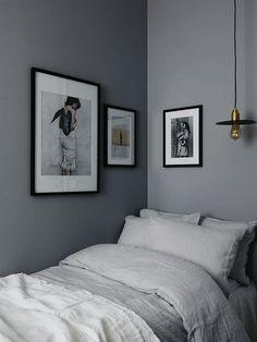 20 Bedroom Paint Ideas for Your Dream Bedroom - Simply Home Dream Bedroom, Home Decor Bedroom, Bedroom Ideas, Decoration Gris, Teen Girl Bedrooms, Teen Bedroom, Master Bedroom, Small Bedrooms, Room Inspiration