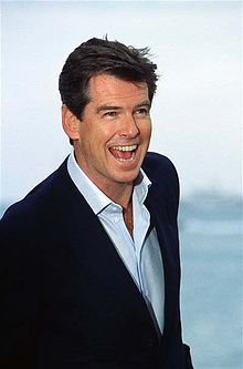 Pierce Brendan Brosnan (born 16 May 1953) is an Irish actor, film producer and environmentalist. After leaving school at 16, Brosnan began training in commercial illustration, but trained at the Drama Centre in London for three years. Following a stage acting career he rose to popularity in the television series Remington Steele (1982–87).