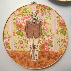 365 Lucky Days: day 83 (Hoarding Intervention week) 10 Vintage Hallowe'en masks.