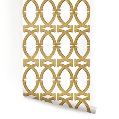 Links Peel & Stick Fabric Wallpaper Repositionable - Simple Shapes Wall Decals, Furniture, and Accessories Gold Wallpaper, Wallpaper Panels, Wallpaper Samples, Fabric Wallpaper, Peel And Stick Wallpaper, Wallpaper Size, Transitional Wallpaper, Temporary Wallpaper, Cleaning Walls