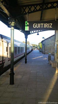 Estación de tren de #Guitiriz, #Lugo. #CaminodeSantiago