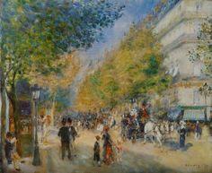 Pierre-Auguste Renoir - the grands boulevards