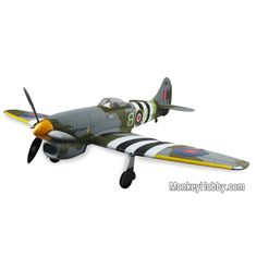 Dynam Hawker Tempest RTF(W/2.4G TX, AU Adapter model) DY8959 The Dynam Hawker Tempest warbird is beautifully presented and is powered by 14.8V 2200 li-poly battery coupled with a high powered 500KV Brushless Motor. This new Warbird by Dynam is a 5-6 channel R/C aircraft with stunning looks make this super realistic in the air or ...