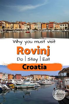 Top things to do in Rovinj - Weekend guide to Rovinj, Croatia from the top attractions to hotels, restaurants, photography spots and day trips. Europe Travel Guide, Europe Destinations, Travel Guides, Travel Abroad, Cool Places To Visit, Places To Travel, Rovinj Croatia, Croatia Travel, European Travel